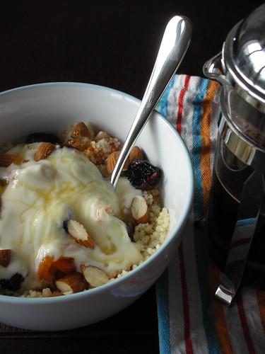 breakfast couscous