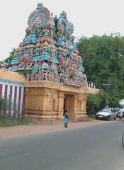 Temple on the Tanjore-Thiruvaiyaru main road
