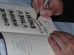 Higson signing