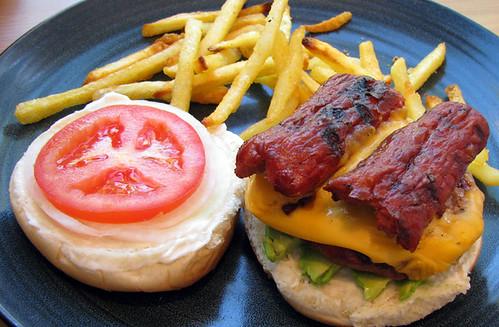 Gnarly Cali Combo Burger