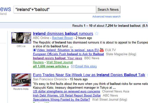 ireland bailout