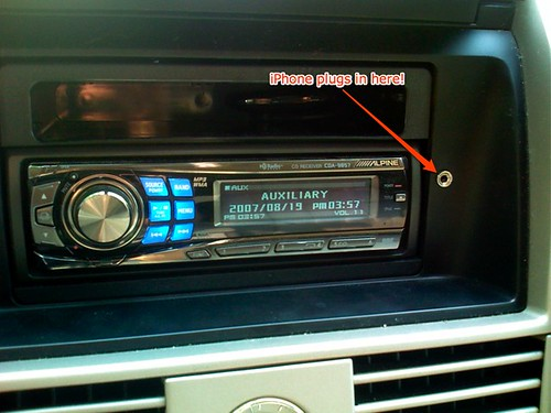 Auxiliary Jack For Car: Add A Dashboard Jack For Your Car Stereo's Rear Aux Input