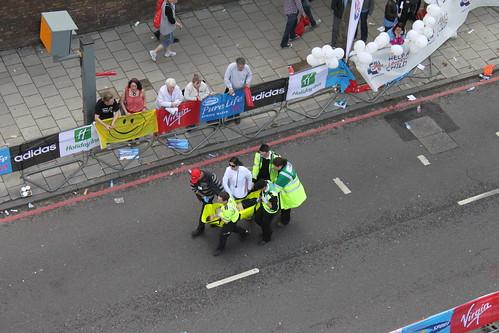 The ambulance folk, doctors and nurses