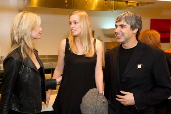 Jennifer Siebel Newsom, Lucy Southworth, Larry Page