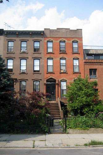 Carroll Gardens brownstones