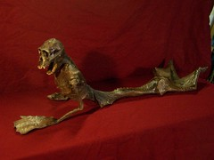 6 ft feegee mermaid on stand  6