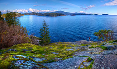 Gospel Rock Panorama - Gibsons Landing, Sunshi...