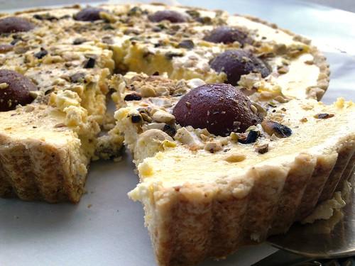 Gulab Jamun Soufflé Cheese Torte 4