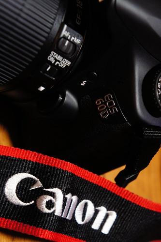 Canon EOS 60D 赤線