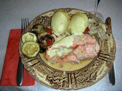 Salmon is of course a classic