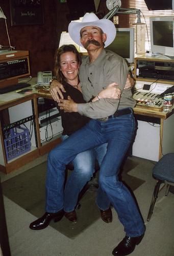 Beth Warren and Cowboy Poet Baxter Black