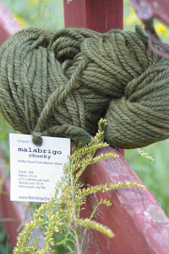 Lace leaf yarn
