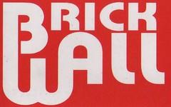 Brickwall at SAGAN