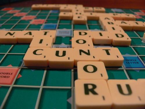 Rude Scrabble