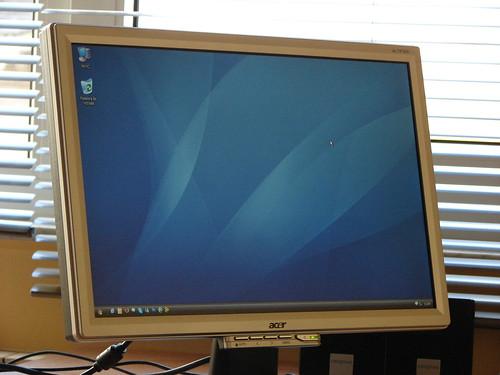 Detalle del monitor
