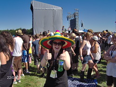 Random Crazy Hat Girl!!