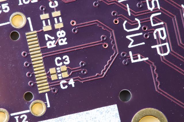 PCB macro shot