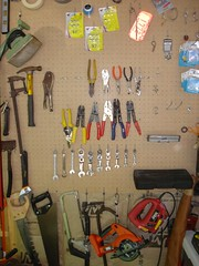 My father's ultra organized tools