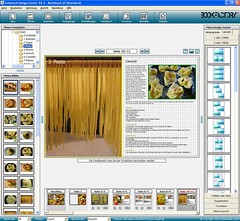 Fotobuch Bildschirm