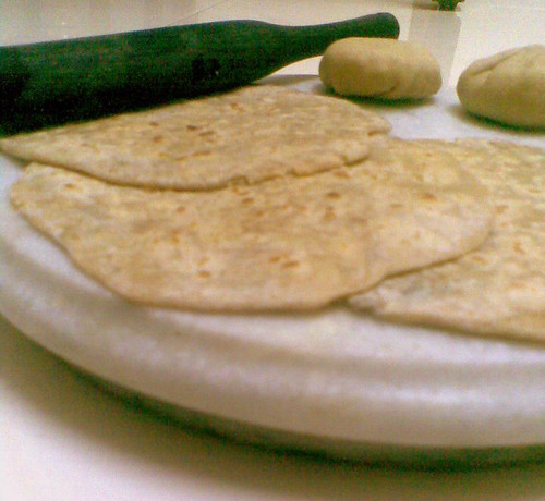 Vazhakkai (Raw Banana/ Plaintain) Podi Parathas  (2/3)