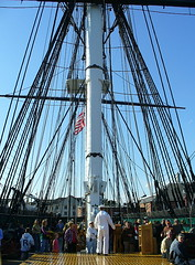 Main deck, USS Constitution