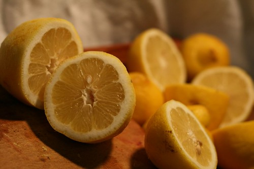 Time to juice the lemons