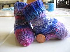 Little Sky Socks - FO!
