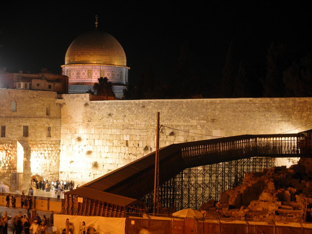 Western Wall and Temple Mount