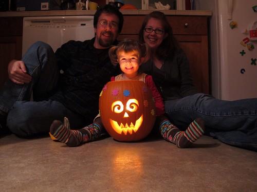 Halloween Pumpkin (with Stickers!)