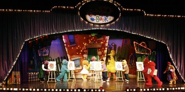 Sesame Street Live: Elmo's Coloring Book - 1