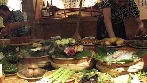 Dinner at Inakaya in Roppongi