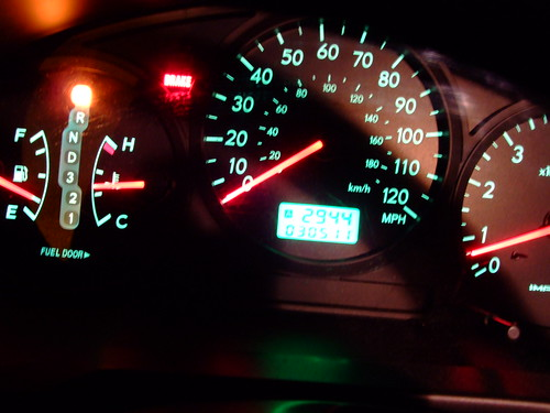 final odometer reading