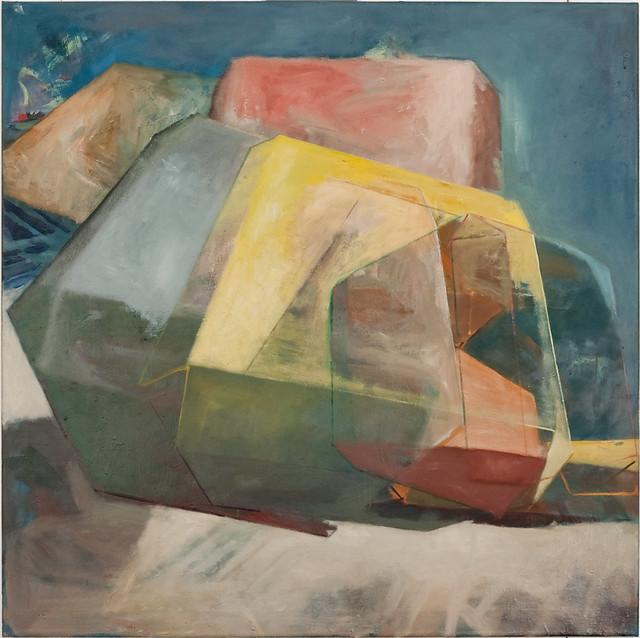 Haiya, 100x100cm, 2011, Öl/Eitempera-Pigmente