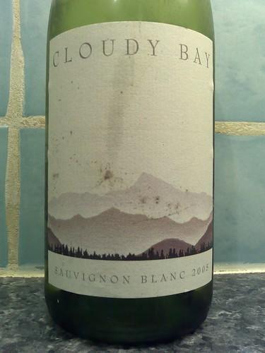 Cloudy Bay Sauvignon Blanc 2005
