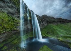 Waterfalls at Midnight