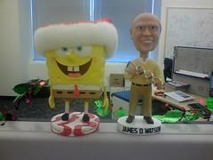 Watson and SpongeBob