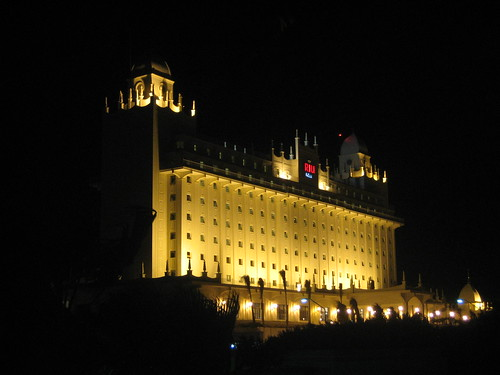 Dark Palm Beach-strip, except Riu Palace