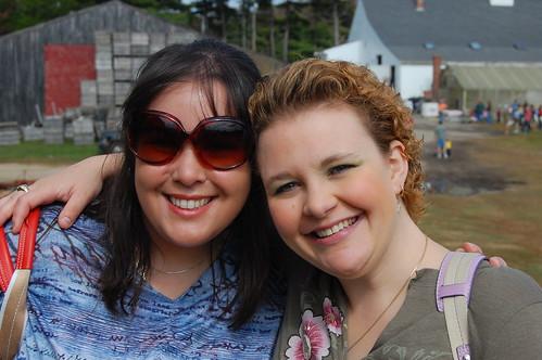Angela and Karyl