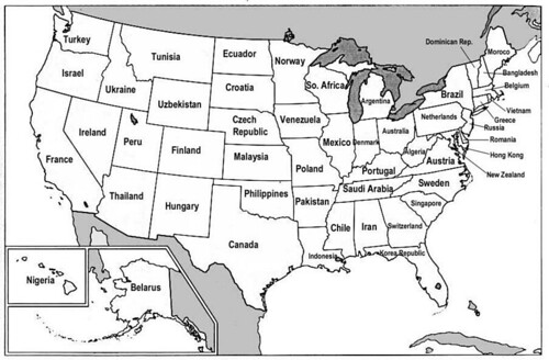 states gdps