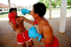 Khmer Boxing by  lecercle, on Flickr
