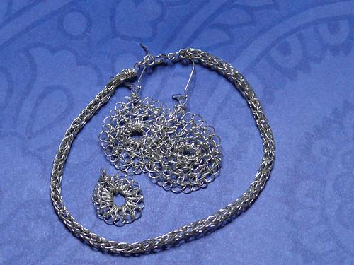 Crochet Silver Wire