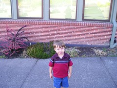 charlie first day at school