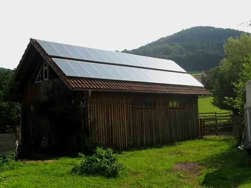 Paneles Fotovoltaicos Selva Negra Alemania Vista General