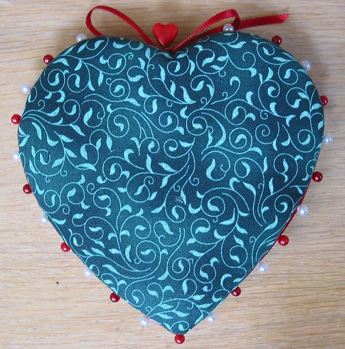 Heart Shaped Pinkeep - back