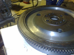 Alfa 105 modified flywheel