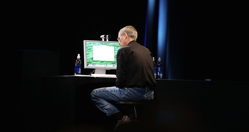 Steve Jobs Demoes Quick Look