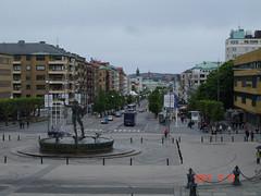 Gothenburg, city center, Poseidon Fountain