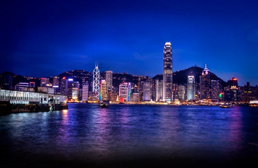 Farewell Hong Kong...  on the way to Shanghai