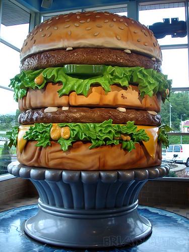 New giant Big Mac, Rt. 30, North Huntingdon, PA