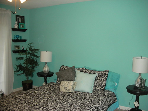 New wall color.